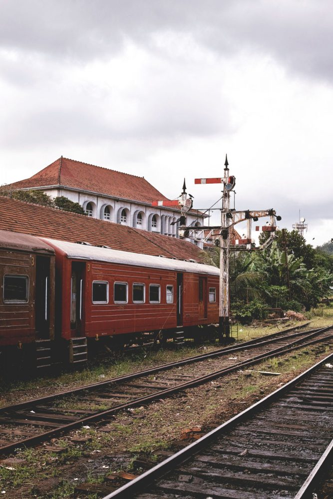how to go sri lanka from india by train