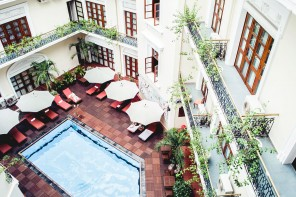 The place : Majestic hotel, Ho Chi Minh City, Vietnam