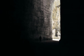 The place : Ear of Dionysius, Syracuse, Sicily, Italy