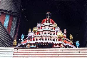The detail : hindu temple, Sri Lanka