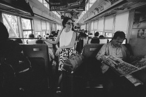 In situ : on the train, Japan