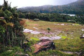 Panorama : Kotmale reservoir, Sri Lanka