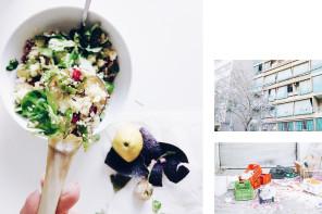 The cosmopolitan kitchen : Pomegranate tabbouleh
