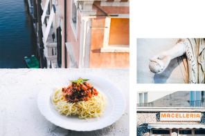The cosmopolitan kitchen : Spaghetti alla salsiccia